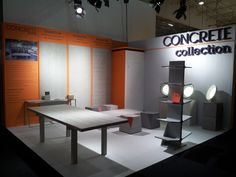 Concrete LCDA at Maison & Objets in January 2013