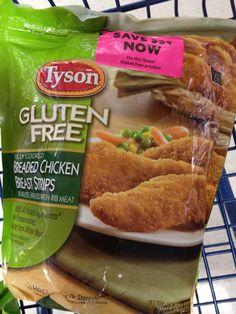 Tyson Gluten Free Tenders