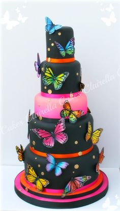The Tropical Butterfly Cake