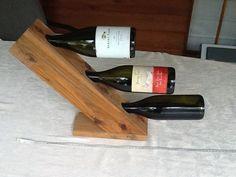 Items similar to 3 bottle wine holder on Etsy