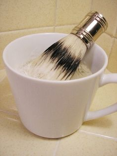 Shaving Soap Recipe - Melt and Pour Shaving Soap - Basically...the key is Bentonite clay