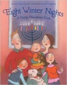Eight Winter Nights, A Family Hanukkah Book, By Laura Krauss Melmed Each night, the family lights a candle to celebrate Hanukkah. I like that the holiday is about being together with family. At the back of the book, it explains why Jewish people celebrate Hanukkah. You can use the information to explain Hanukkah to your students. Age Range: 4 - 8 years