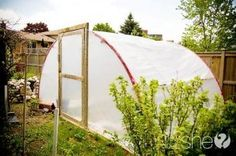 The Homestead Survival | How To Recycle An Trampoline Frame Into Homesteading Projects | http://thehomesteadsurvival.com