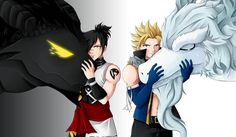 Children of the White and Shadow Dragon Fairy Tail - Rogue and Sting by CelestialRayna