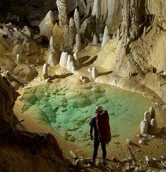 The caverns of Lechuguilla Cave