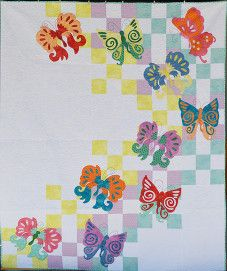 BUTTERFLY QUILT..........PC
