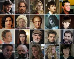 Season 1 characters from Once Upon a Time