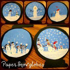Crafty Classroom: Snowglobes