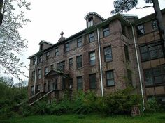 This is the Abandoned St Mary's Hospital in Ironton, Missouri. It is said that this place is extremely haunted.