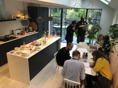 Our Gorgeous House Tour in Evening Edition Side Return Extension, House Extensions, Open House, House Tours, This Is Us, Loft, London, Building, Kitchen
