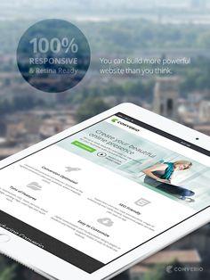 Converio WordPress Theme - 100% Responsive and Retina Ready