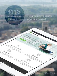 Converio WordPress Theme - 100% Responsive and Retina Ready