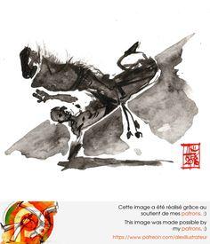 Illustration : Capoeira – 1029