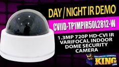 Day/Night Video - CVIID-TP1MPIR50L2812-W - 1.3MP 720p HD-CVI IR Varifoca...