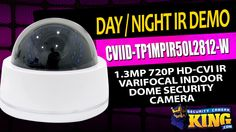 Day/Night Video - CVIID-TP1MPIR50L2812-W - 1.3MP 720p HD-CVI IR Varifoca...
