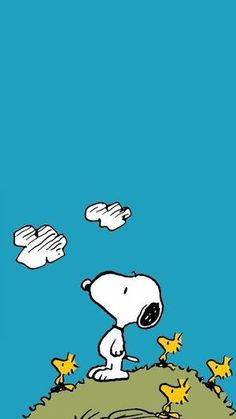 Find images and videos about dog, cartoon and snoopy on We Heart It - the app to get lost in what you love. Calvin And Hobbes Wallpaper, Snoopy Wallpaper, Cartoon Wallpaper, Iphone Wallpaper, Snoopy Love, Snoopy And Woodstock, Peanuts Cartoon, Peanuts Snoopy, Cute Backgrounds