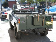 whatever's cool with you: Legendary Land Rover