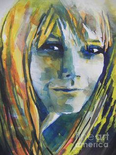 Actress Gwyneth Paltrow by Chrisann Ellis
