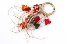 Adornment for purse. Materia: buriti straw / #biobijoux