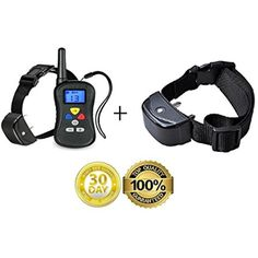 (Bundle 3 items) - Remote Dog Training Collar With two collars for 1 or 2 Dogs - Water Resistant Dog Obedience Collar For Training of Large, Medium, and Small Dogs + An Extra Collar @@@ You can read more at the image link. (This is an affiliate link and I receive a commission for the sales)