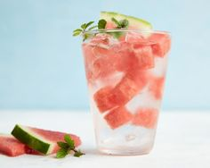 Get Watermelon-Mint Water Recipe from Food Network