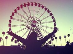 Coachella Music Festival by witness-this #Photography #Ferris_Wheel #Music_Festival