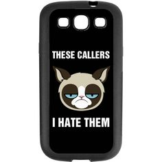 Customize a case for your smartphone! Funny Phone Cases, Grumpy Cat, Funny Shirts, Smartphone, Cats, Gatos, Funny Tee Shirts, Kitty, Cat
