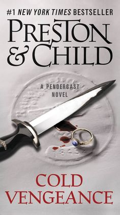 'Cold Vengeance (Special Agent Pendergast)' by Douglas Preston and Lincoln Child ---- Devastated by the discovery that his wife, Helen, was murdered, Special Agent Pendergast must have retribution. But revenge is not sim. Great Books, My Books, Preston Child, 1 Wall Street, Special Agent, Beach Reading, Reading Room, Apple Books, Thriller Books