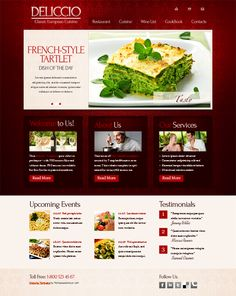 27 best free restaurant website templates images restaurant