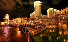scaricare gli sfondi citt, Las Vegas, albergo, Venezia Sfondi gratis per la risoluzione del desktop 1680x1050 — immagine №393688