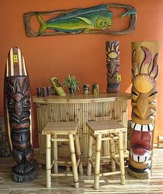 Always wanted a tiki bar in my house!