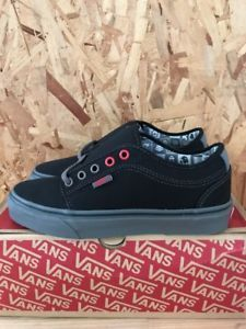 dddd63c7bb VANS-CHUKKA-LOW-NINTENDO-CHECK-BLACK-GREY-SIZE-6-5-NEW-WITH-BOX