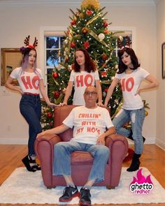 Chillin with my ho's