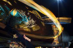 The Fair is a Blur of Lights Blurred Lights, Sea, Photography, Photograph, Fotografie, The Ocean, Photoshoot, Ocean, Fotografia