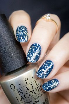 OPI Pure White Gold top coat. http://fashioncognoscente.blogspot.com