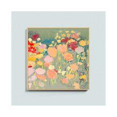 Flower Dance Framed Canvas