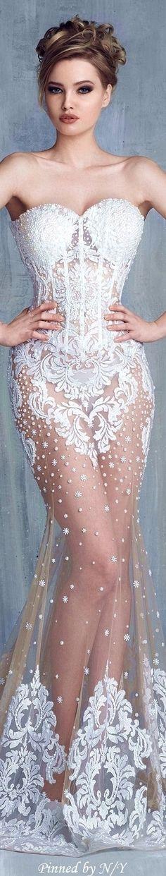 Tony Chaaya Couture S/S 2016 Bridal