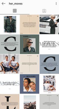 Instagram Design, Instagram Feed Ideas Posts, Instagram Feed Layout, Feeds Instagram, Instagram Grid, Instagram Post Template, Instagram Story, Grid Design, Web Design