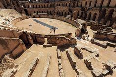 Anfiteatro romano de Djem, Túnez