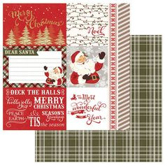 Photo Play Paper - Holiday Cheer Collection - Christmas - 12 x 12 Double Sided Paper - Deck The Halls