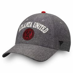 0b22aba7f85980 Women's Atlanta United FC Fanatics Branded Black Chambray Fundamental Adjustable  Hat, Your Price: $23.99