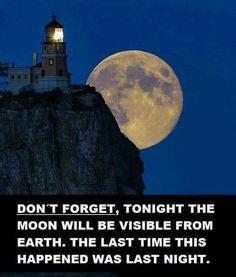 Maybe tomorrow night too.....