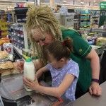 A Morrisons employee who was praised online for helping out a girl withautismin store has become the face of the shopslatest advert.  Check-out manager Lin Lisle-Fenwick from the Basingstoke store wasthanked earlier in May 2016by a mother whose daughter was having a meltdown.  She distracted my daughter by letting her scan all my shopping mum Amanda Wikins wrote on Facebook.  A dream come true for Holly who loves playing shops.  It melts my heart to come across people that are prepared to go…