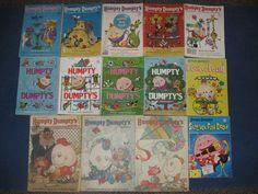 Vintage 70's 80's Humpty Dumpty Magazines for Little Children