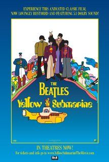 Yellow Submarine (1968) The Beatles agree to accompany Captain Fred in his Yellow Submarine and go to Pepperland to free it from the music hating Blue Meanies.