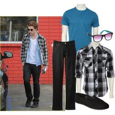 Robert Pattinson is mad for plaid! Get his casual and cool look on a budget at rue21!
