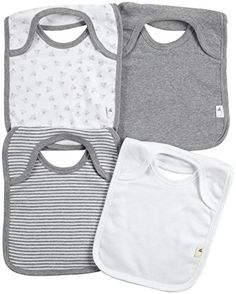Burt's Bees Baby Unisex Baby 4 Pack Bibs (Baby) - Heather Grey - One Size Burt's Bees Baby http://www.amazon.com/dp/B00N4POQSA/ref=cm_sw_r_pi_dp_4ybMwb0ZYWJW5
