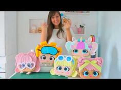 YouTube Foam Crafts, Diy And Crafts, Crafts For Kids, Fabric Dolls, Paper Dolls, Doll Videos, Doll Party, Learn Art, Lol Dolls