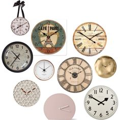 A home decor collage from March 2015 featuring word wall clock, wooden home accessories and battery powered clock. Interior Decorating, Interior Design, Old Town, Home Accessories, Clock, Wall Decor, Interiors, Decoration, Polyvore