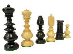 Pièces de jeux déchecs Régence Chess Sets, Chess Pieces, World Cultures, Antiques, Handmade, Vintage, Wood, Buxus, Gaming